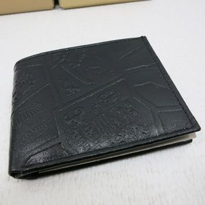 Jems Collection Leather Handcrafted Wallet Bi-fold